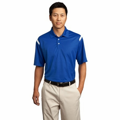 Nike Men's Polo Shirt: Performance Dri-FIT Shoulder Stripe (402394)