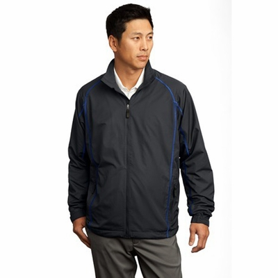 Nike Men's Wind Jacket: 100% Polyester Lightweight Full-Zip (408324)