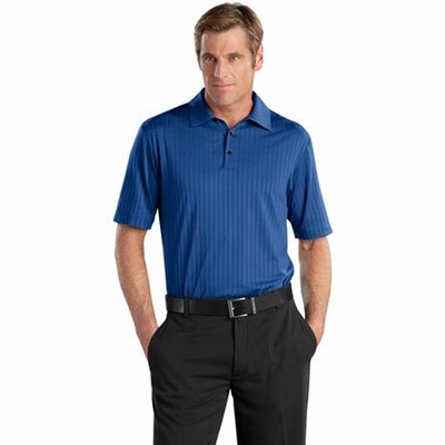 Nike Men's Polo Shirt: Elite Series Vertical Textured (429437)