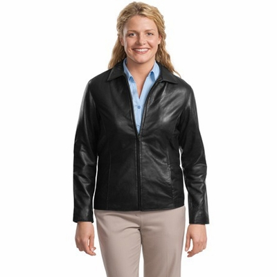 Port Authority Women's Jacket: Signature Park Avenue Lambskin (L785)