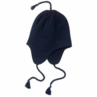 District Threads Beanie: Knit Cap with Earflaps (DT604)