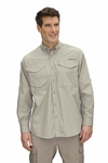 Columbia Sportswear Men's Fishing Shirt: 100% Cotton Long Sleeve Bonehead (FM7120)
