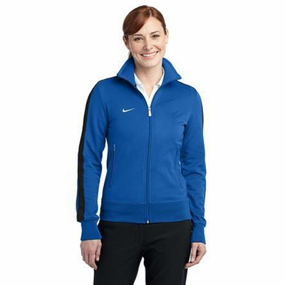 Nike Women's Track Jacket: N98 Double Pique with Piping (483773)
