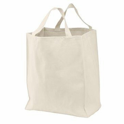 Port Authority Shopping Bag: 100% Organic Cotton Grocery (B100ORG)
