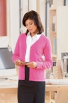 Chestnut Hill Women's Cardigan Sweater: 100% Cotton 6-Button (CH405W)