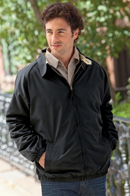 Harriton Men's Jacket: Microfiber Club (M710)