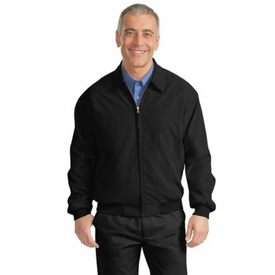 Port Authority Men's Jacket: Casual Microfiber Pocketed (J730)