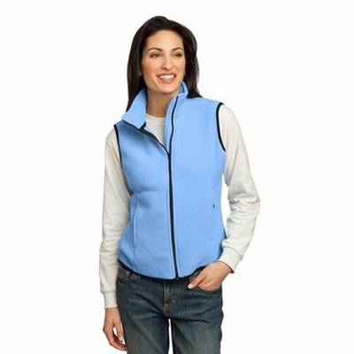 Port Authority Women's Vest: R-Tek Fleece Full-Zip (LP79)