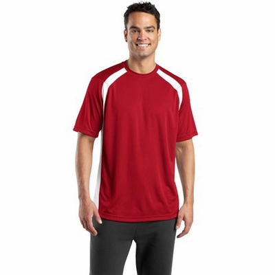 Sport-Tek Men's T-Shirt: Dry Zone Colorblock Crew (T478)