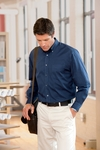 Chestnut Hill Men's Twill Shirt: 100% Cotton 32 Singles Long-Sleeve (CH500)