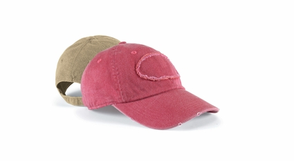 Authentic Pigment Cap: 100% Cotton Pigment-Dyed Raw-Edge Patch Baseball (1917)