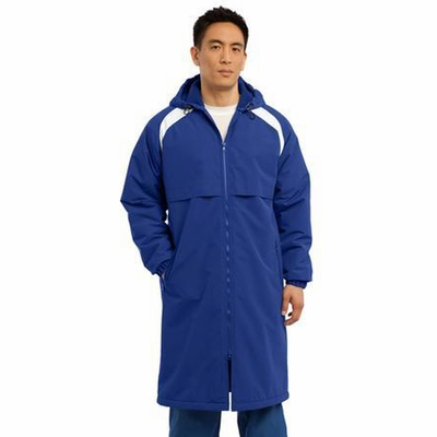Sport-Tek Men's Parka Jacket: Long Length Seam Sealed(JST80)