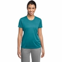 Sport-Tek Women's T-Shirt: Slight Scoop Neck Lightweight Crewneck (LST350)