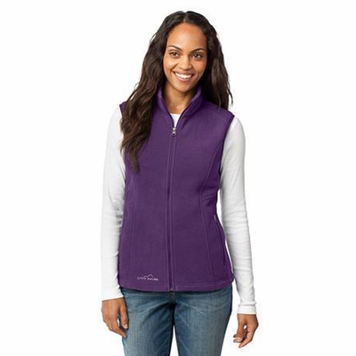 Eddie Bauer Women's Vest: Fleece with Zippered Pockets (EB205)