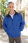 Harriton Men's Jacket: Fleece-Lined Nylon (M740)