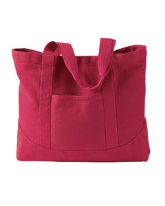 Authentic Pigment Tote Bag: 100% Cotton Pigment-Dyed Large Canvas (1904)
