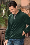 Harriton Men's Jacket: 8 oz. Quarter-Zip Fleece Pullover (M980)
