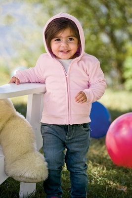 Apples & Oranges Infant Sweatshirt: Sammi Fleece Hoodie (KA156)