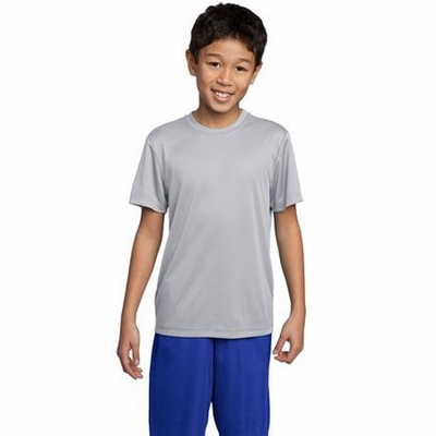 Sport-Tek Youth T-Shirt: Lightweight Athletic Crewneck(YST350)