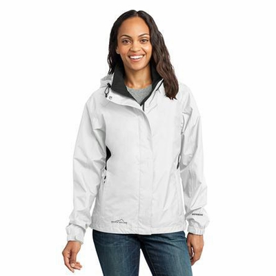 Eddie Bauer Women's Rain Jacket: Seam Sealed ColorBlock (EB551)
