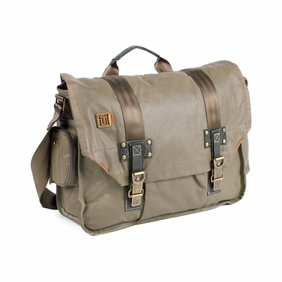 ful Messenger Bag:  AMPT with Laptop Sleeve and Inner Organizer (NS6038)