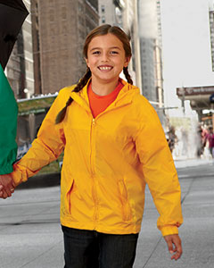 Harriton Youth Rain Jacket: (M765Y)