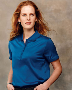 Devon & Jones Women's Polo Shirt: 100% Pima Cotton Executive Club (D440W)