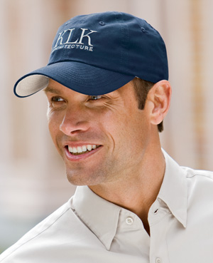 Port Authority Cap: 100% Cotton Brushed Canvas Contrast Underbill (C805)