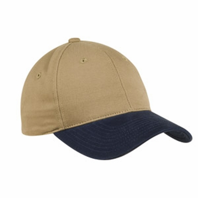 Port Authority Cap: 100% Cotton 2-Tone Brushed Twill (C815)