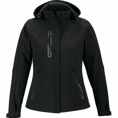 North End Women's Jacket: Stretch Fit Water Resistant Soft Shell  (78665)