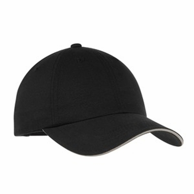 Port Authority Cap: 100% Cotton Twill Brushed Reflective Sandwich Bill (C832)