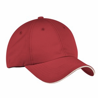 Port Authority Cap: Signature Dry Zone Contrast Trim Sandwich Bill (C838)