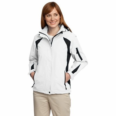 Port Authority Women's Jacket: All-Season II Color Block Waterproof (L304)