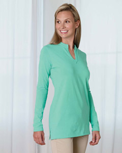 Devon & Jones Women's Tunic: Stretch Jersey Long-Sleeve (DP165W)