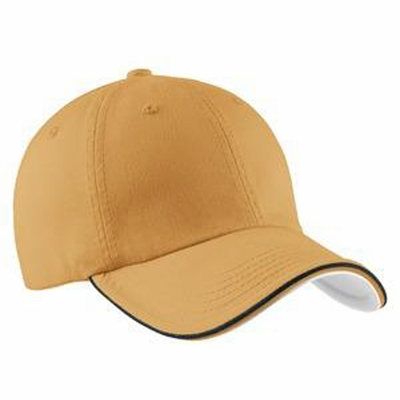 Port Authority Cap: 100% Cotton Twill Double Piped (C839)