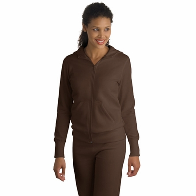 Sport-Tek Women's Jacket: Full-Zip Hooded Fleece (L265)