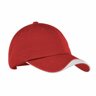 Port Authority Cap: 100% Cotton Twill Chevron Curved (C862)