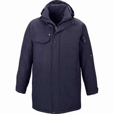 North End Men's Jacket: Full Length Heavy Duty Insulated (88180)