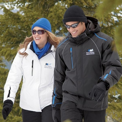 North End Men's Jacket: Insulated Seam-Sealed w/ Reflective Piping (88652)