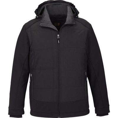 North End Men's Jacket: Water Resistant Insulated Hybrid Soft Shell (88661)
