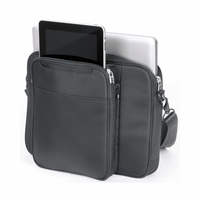 ful Messenger Bag: Joint Venture 2-1 with Macbook Compartment and Detachable Tablet Case (AP6211)
