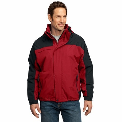 Port Authority Men's Jacket: Nootka Insulated with Zip-Off Hood (J792)