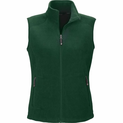 North End Women's Vest : Extra Soft Anti-PillFleece Knit (78173)