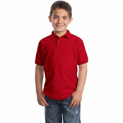 Port Authority Youth Polo Shirt: Silk Touch (Y500)