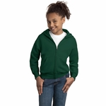 Hanes Youth Sweatshirt: 7.8 oz. ComfortBlend 50/50 Full-Zip Hood (P480)