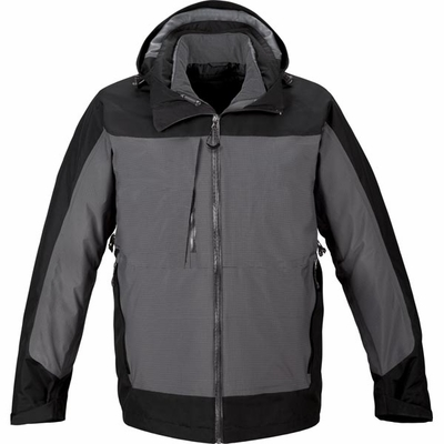North End Men's Jacket: 3-in-1 Insulated Quilted Full-Zip w/ Waterproof Shell (88663)