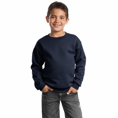 Port & Company Youth Sweatshirt: Crewneck (PC90Y)