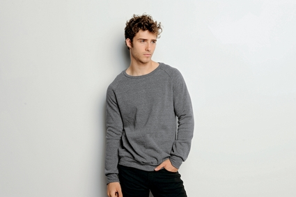 Canvas Men's Sweatshirt: 8.2 oz. Triblend Sponge Fleece Pullover (3901)
