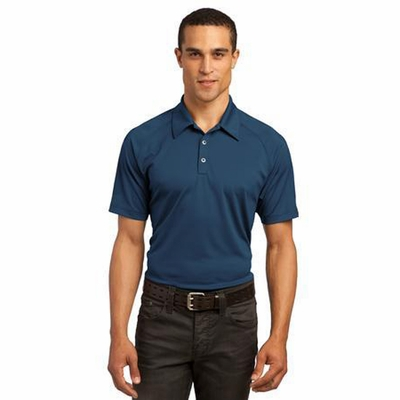 OGIO Men's Polo Shirt: Tag Free Performance w/ Patterned Sleeves(OG110)