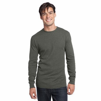 District Threads Men's T-Shirt: Long Sleeve Thermal (DT118)